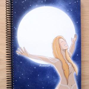 libreta luna llena