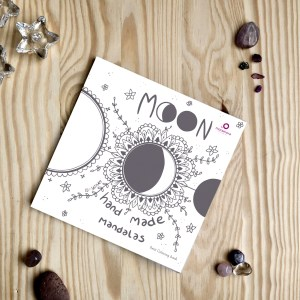 moon hand made mandalas
