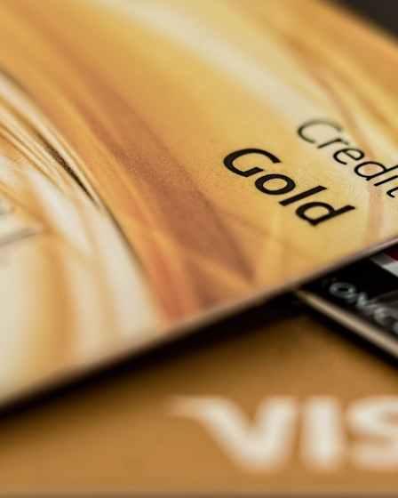 master card visa credit card gold