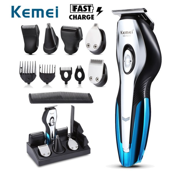 11 in 1 Electric Hair Trimmers Rechargeable Hair Clipper Electric Shaver Beard | Online In Pakistan