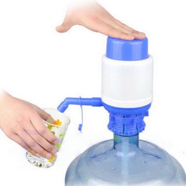 Manual 5 Gallon Bottled Drinking Water Hand Press Bottled Drinking Water Press Pump Dispenser 2016 outdoor 1