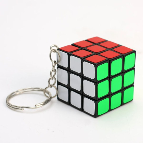 3cm Mini Magic Cube 3x3x3 Keychain Pendant Speed Twist Puzzle Games Educational Learning Toys for Kids1 | Online In Pakistan