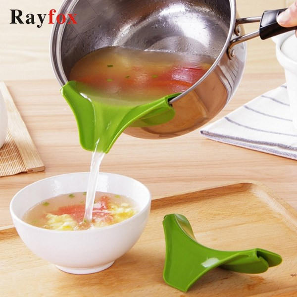 1pc Creative Silicone Funnel Kitchen Accessories Tools Pots a   Online In Pakistan