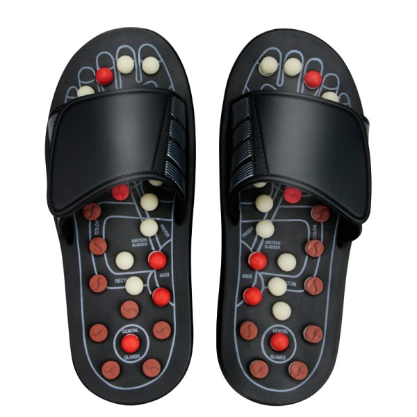 Feet Massage Slippers Foot Reflexology Acupuncture Therapy Massager Walk Stone Shoes Acu | Online In Pakistan