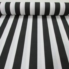 Fabrics For Chairs Striped Wheelchair On Tracks Black White Fabric Sofia Stripes Curtain Upholstery