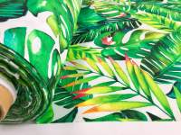 Banana Tropical Palm Leaves Botanical Green Leaf Print ...