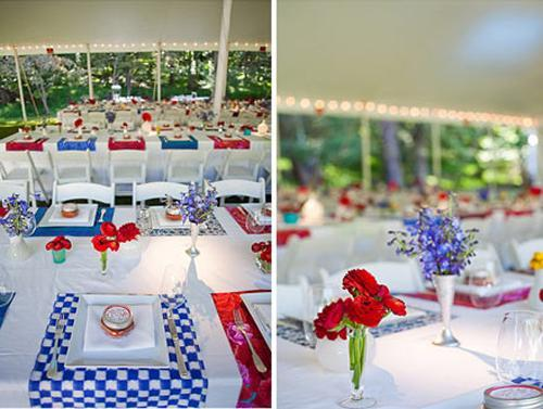 25 Patriotic Decoration Ideas For White, Red And Blue