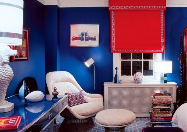 Red, White And Blue Colors Adding Patriotic Decoration