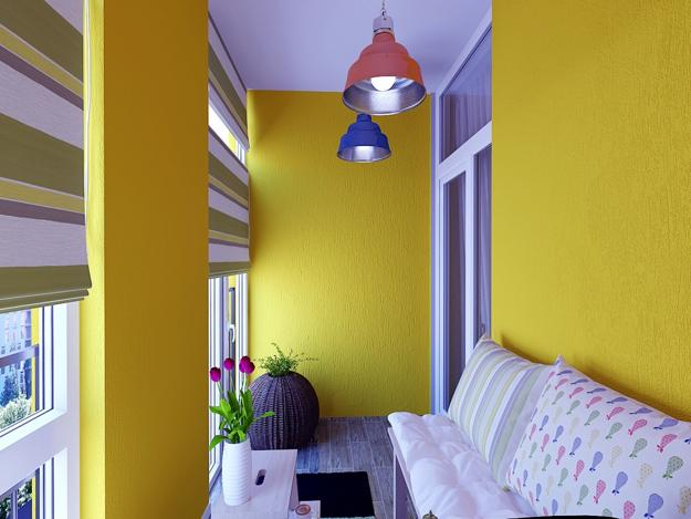 Luminous Interior Design Ideas And Shining Yellow Color