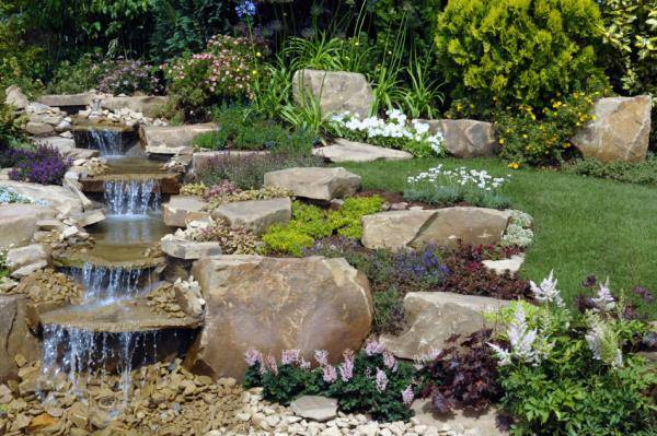 Extra Large Concrete Planters 22 Beautiful Waterfalls For Natural Backyard And Front