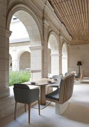 monastery interior modern medieval hotel conversion interiors fontevraud decorating vibe kitchen lushome restaurant abbaye klooster vintagehome contemporary middle abbey oud