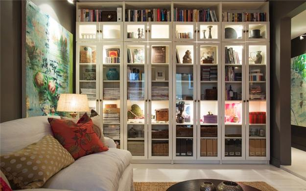 15 Home Library Design Ideas Creating Spectacular Accent Walls