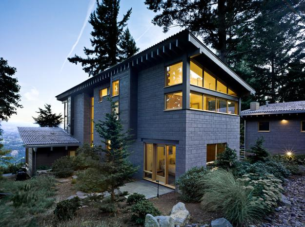 Modern Houses Surrounded By Trees, Architectural Appeal