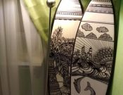 Creative Design Ideas Incorporating Surfboards Into Home Decorating