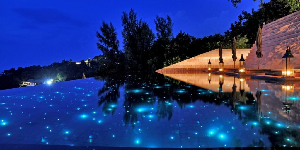 Paresa Resort pool, Phuket Thailand