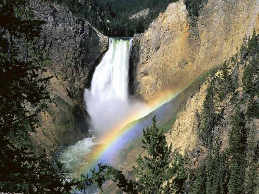Yellowstone-Falls-Yellowstone-National-Park-Wyoming | Places to See Before It's Too Late