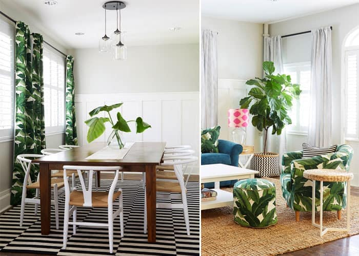 Palm Leaf Print | Lombardi House
