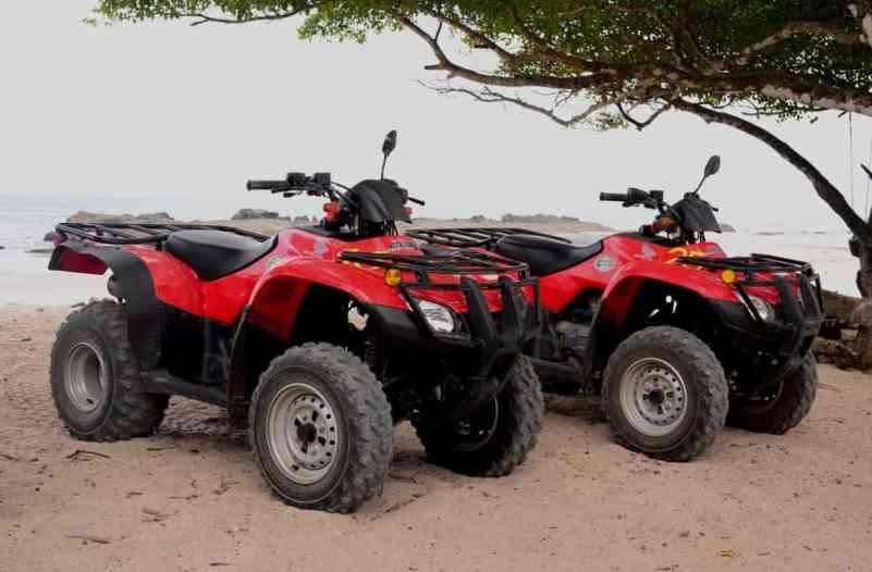 Quad ATV rentals Costa Rica   surfing Costa Rica