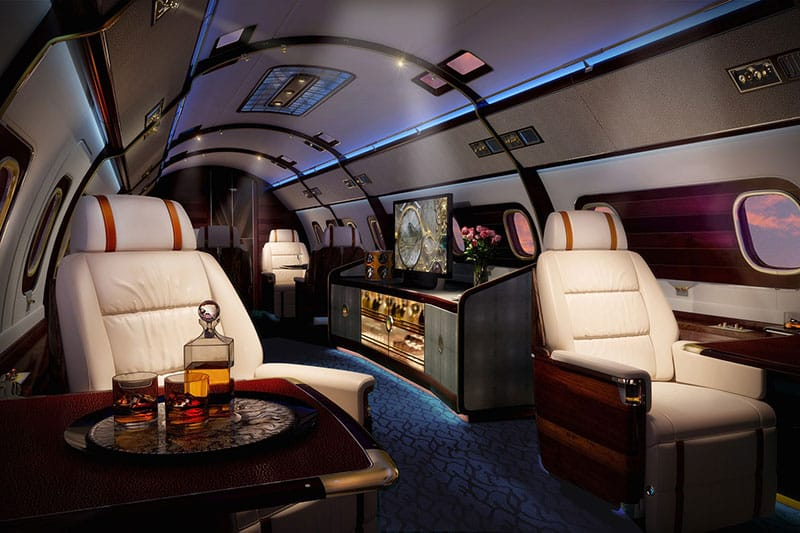 skyacht one private jet   luxury yacht in the sky
