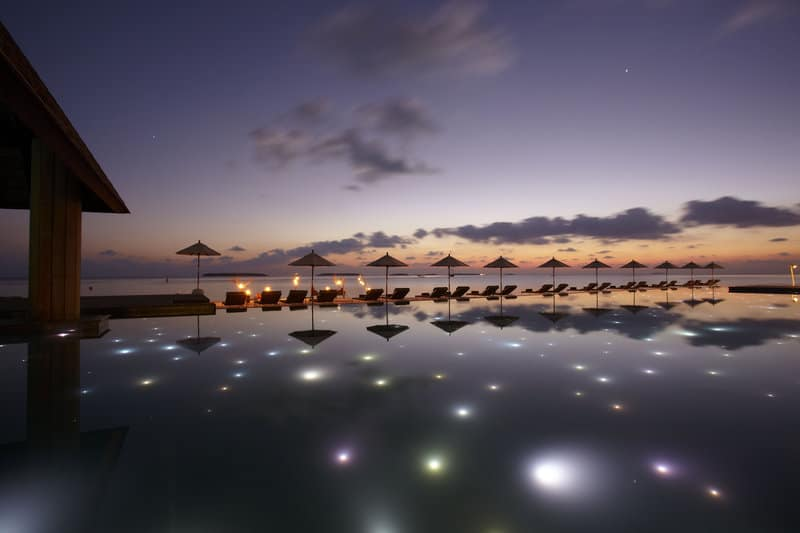 Most Beautiful Pools In The World | Anantara Kihavah, Maldives