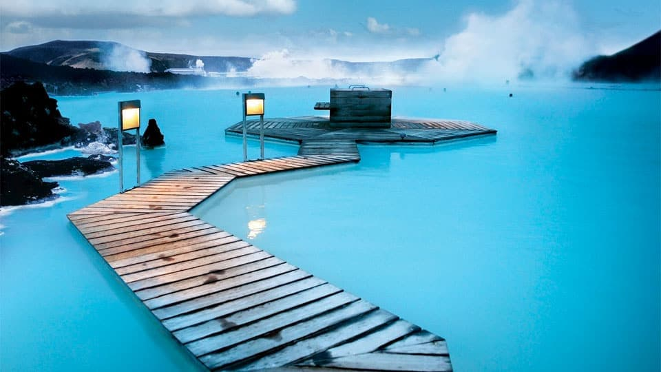 Most Beautiful Pools In The World | Blue Lagoon Geothermal Spa, Iceland