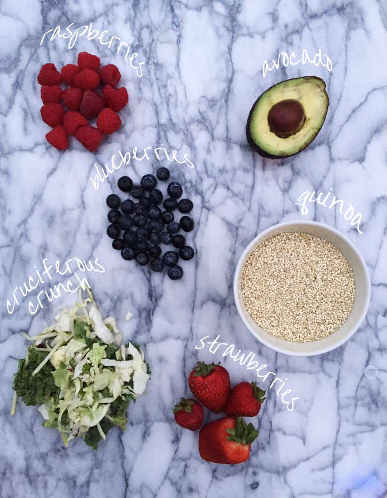 Summer Berry Superfood Salad