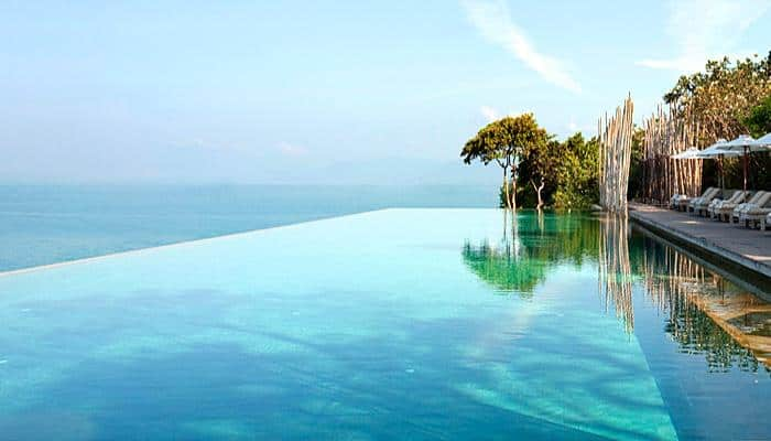 Most Beautiful Pools In The World | Six Senses Samui, Thailand