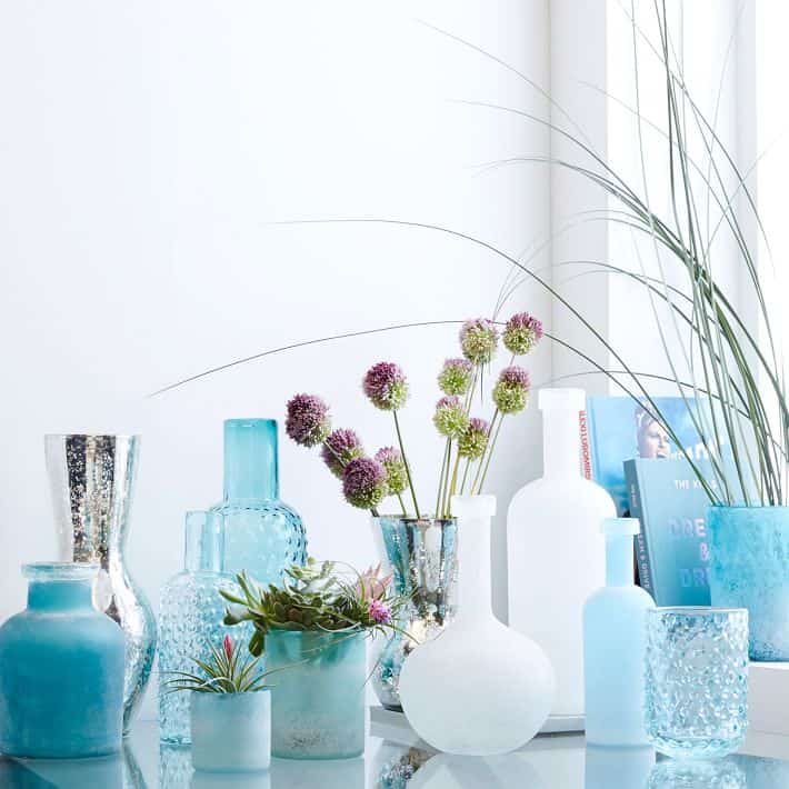 west elm vases / beach house style