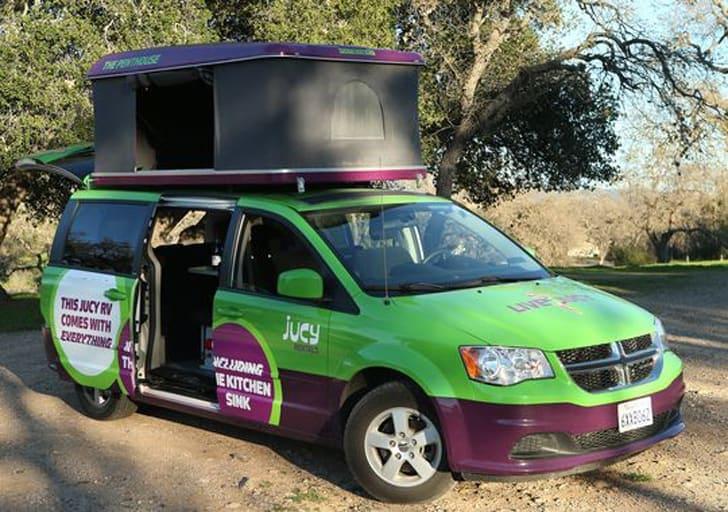 JUCY RV Rentals USA / 6 Camper Van Rentals for the Ultimate California Coast Road Trip
