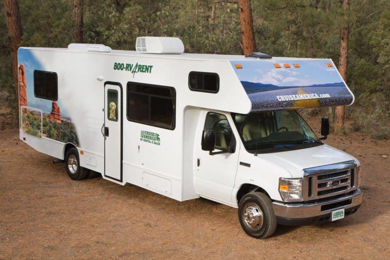 6 camper van rentals for the ultimate california road trip for Motor home rental usa