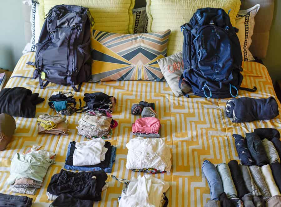 What to pack for a year around the world? That's a whole other post.