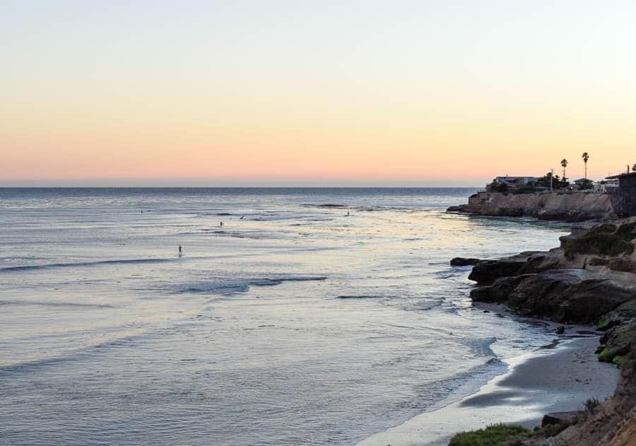 Santa Cruz Sunset / RTW SURF TRIP 02 / FROM ENCINITAS TO SAN FRANCISCO