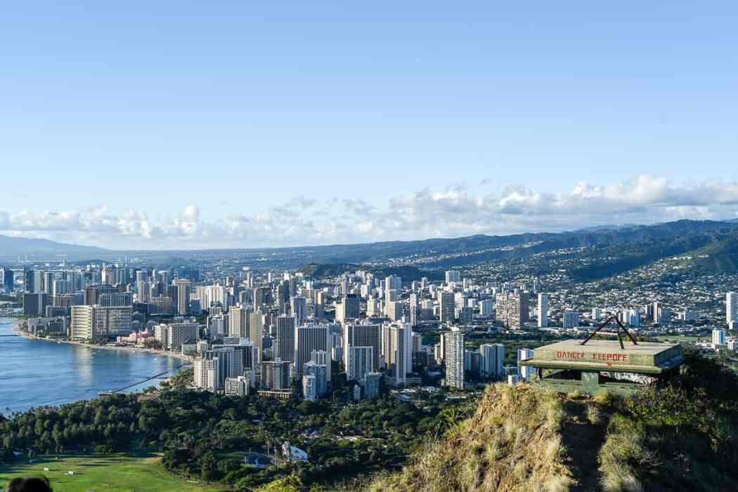 Diamond Head Hike / Waikiki, Honolulu, Hawaii