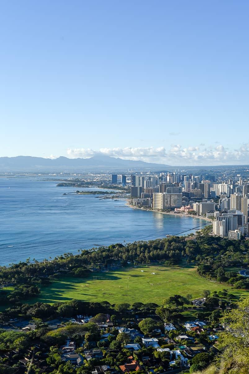 Diamond Head hike / Honolulu Hawaii