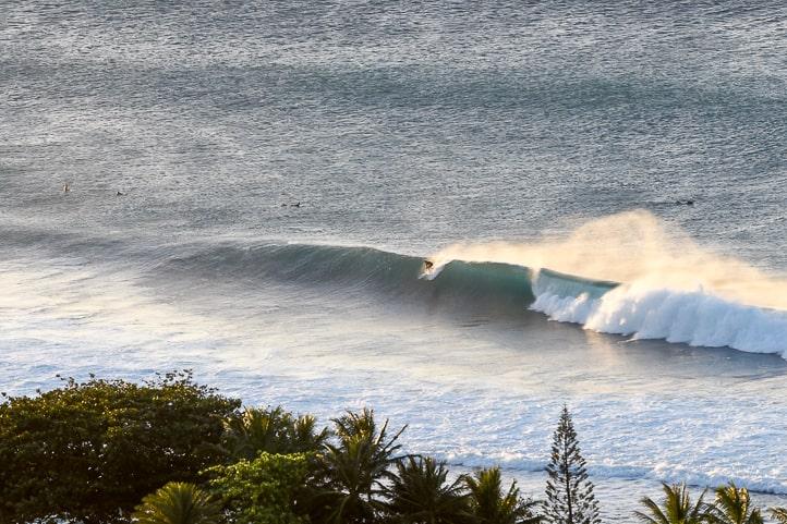 North Shore Oahu surf