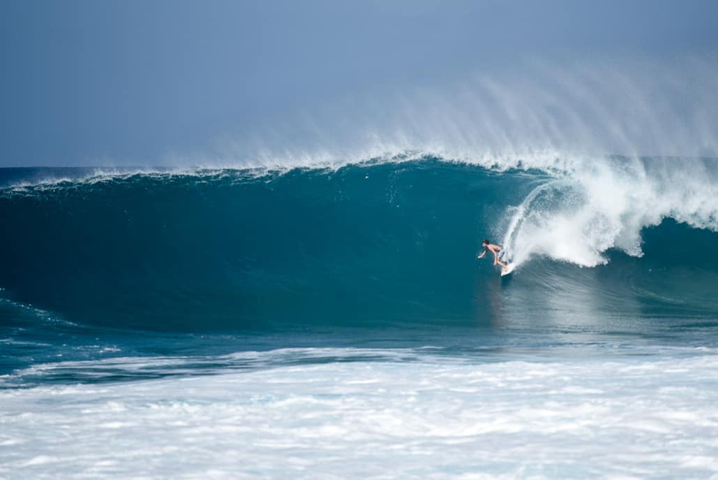 Off-the-wall, North Shore Oahu