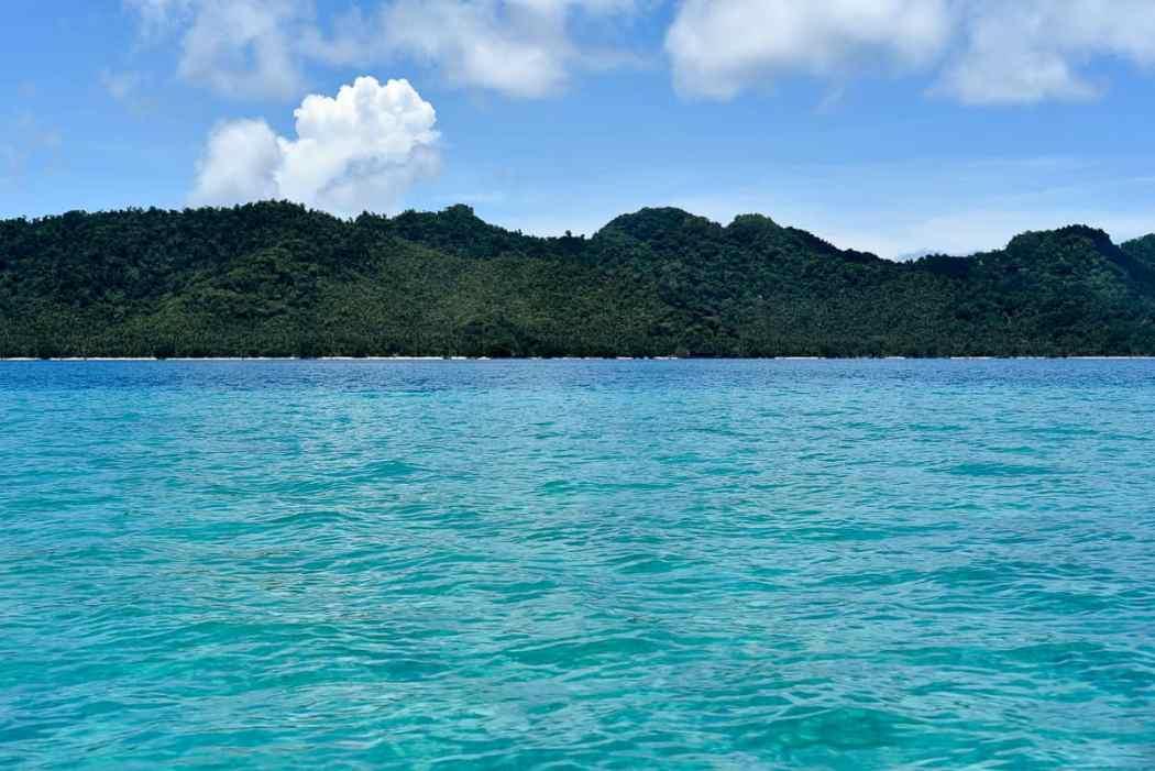 Fiji islands Qamea island