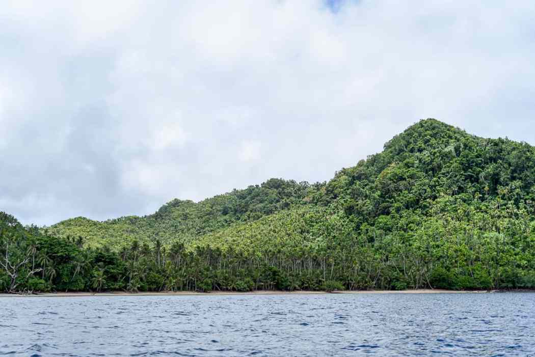fiji islands remote Qamea island