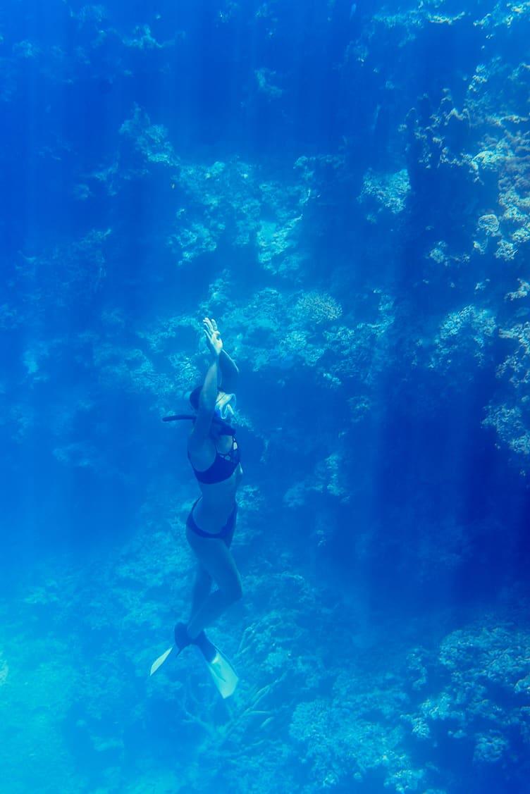 Fiji islands Qamea island freediving fiji