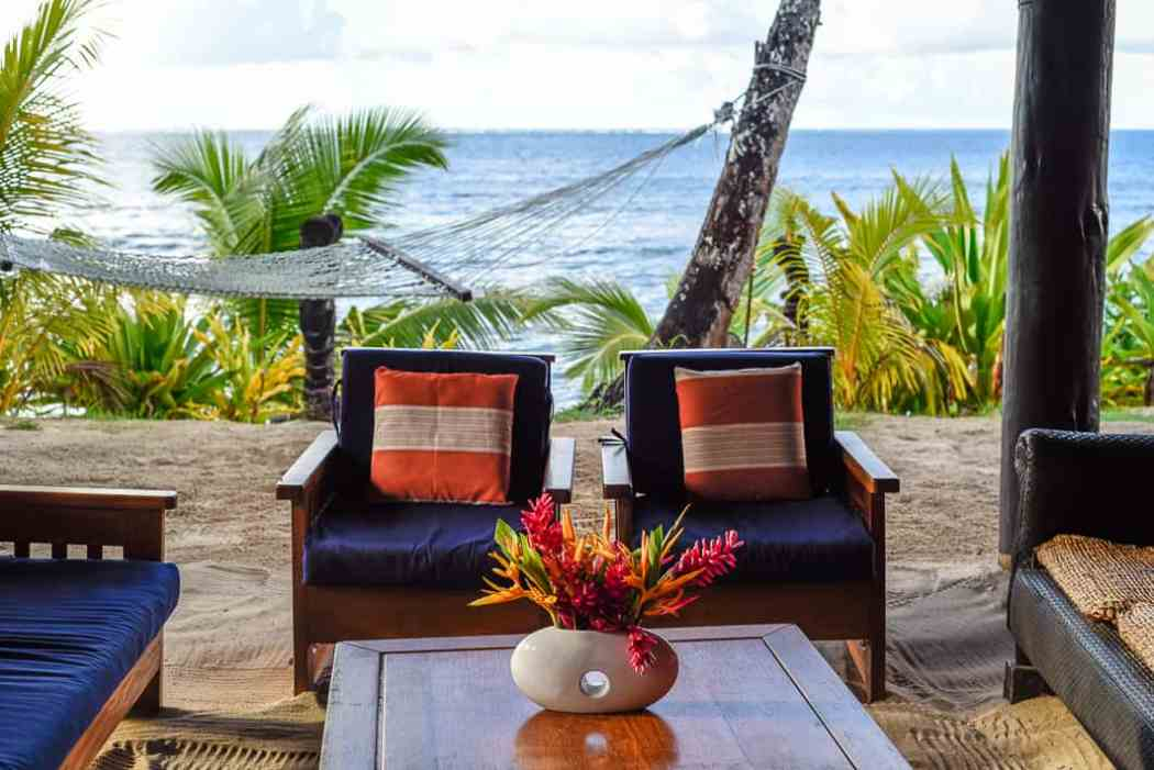 maqai eco surf resort Fiji islands Qamea island