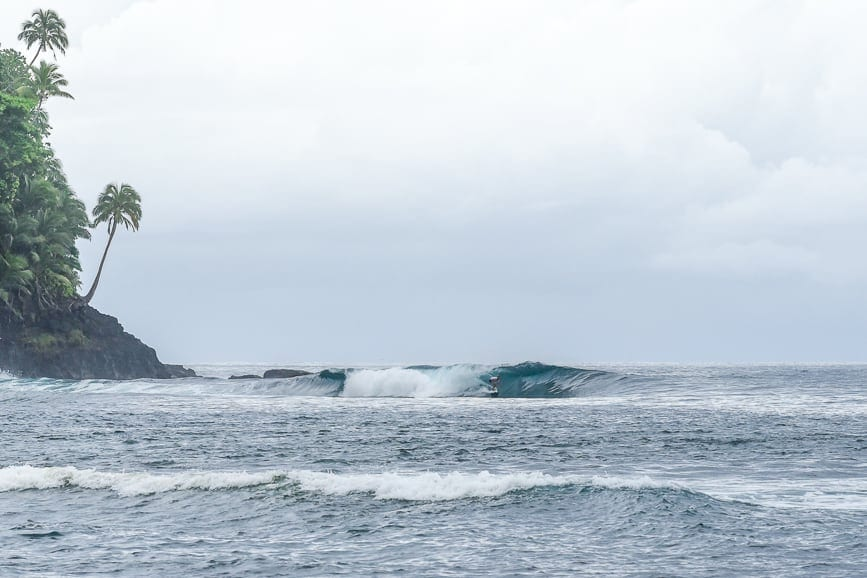 samoa surf tiavea left point
