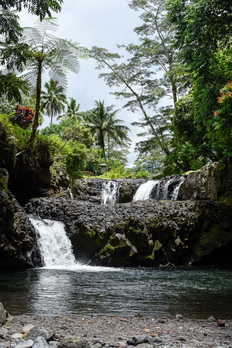 samoa togitogiga waterfall
