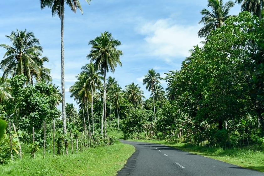 samoa roads