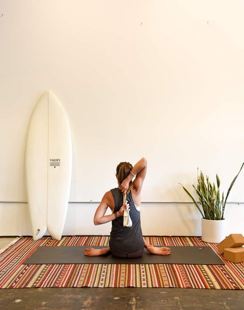 yoga for surfers / surf yoga