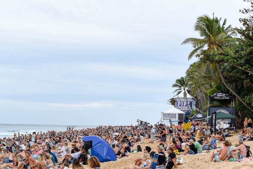 north shore surf competition billabong pipe masters