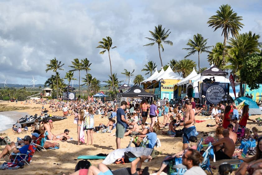 north shore surf competition hawaiian pro