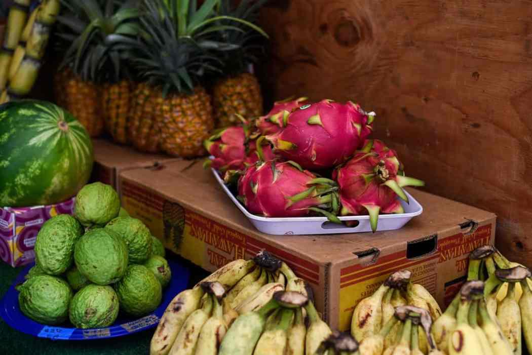 Oahu Hawaii Fruit