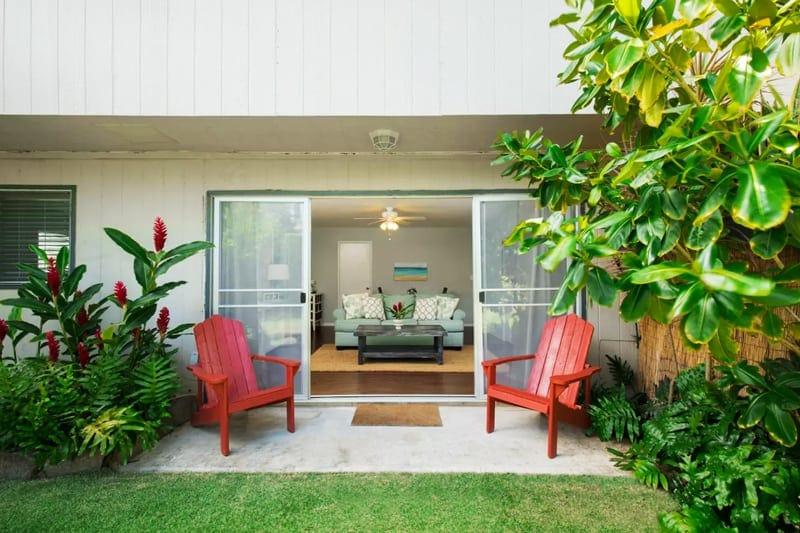 oahu hawaii vacation rental kailua