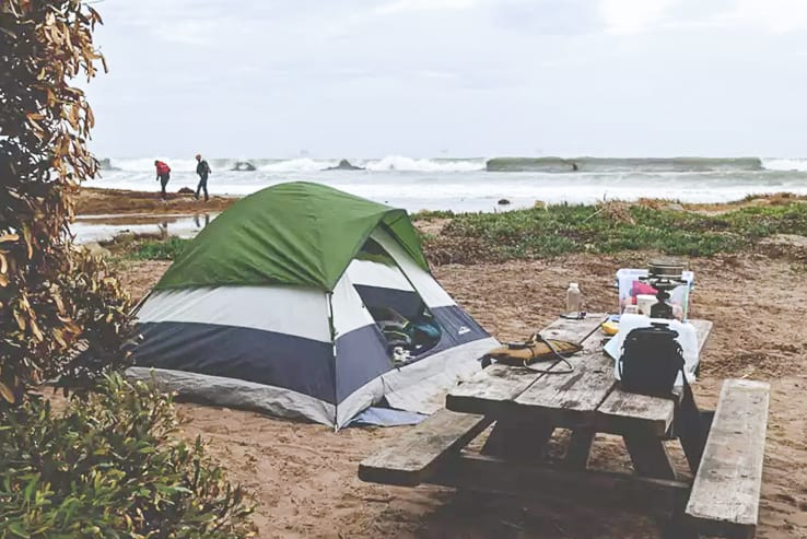 Camping in California / Beach Campgrounds