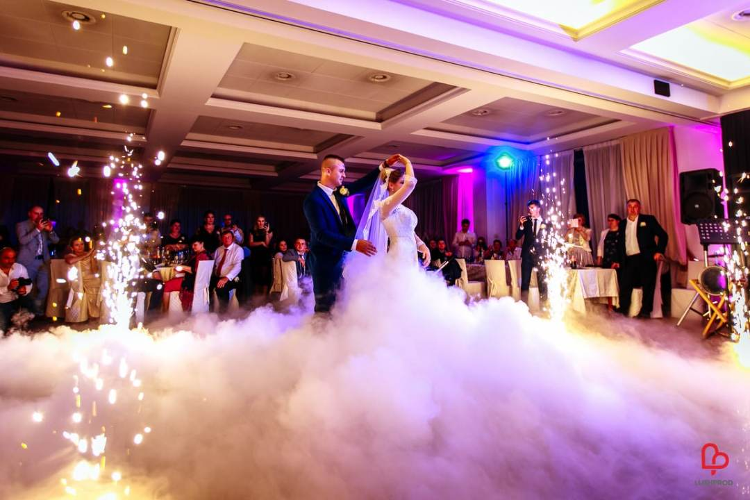 fuochi d'artificio matrimonionozze primo ballo